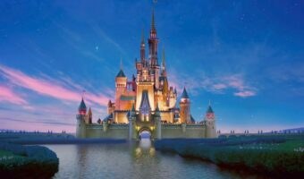 This image shows the castle at Disney.