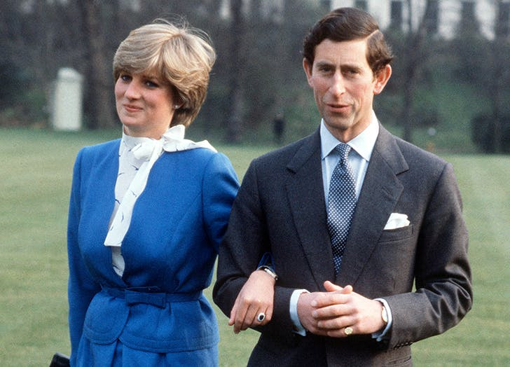 This photoshoot was the announcement of Prince Charles' and Lady Diana's engagement.