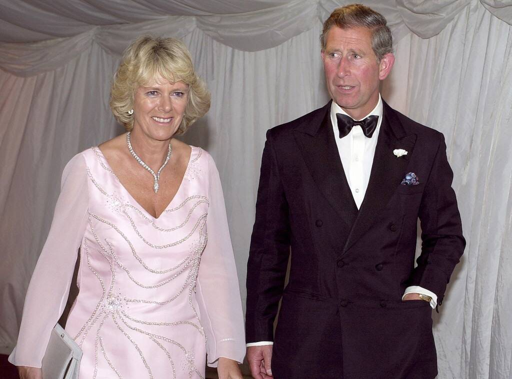 Prince Charles is pictured here with his second wife, Camilla Parker Bowles.
