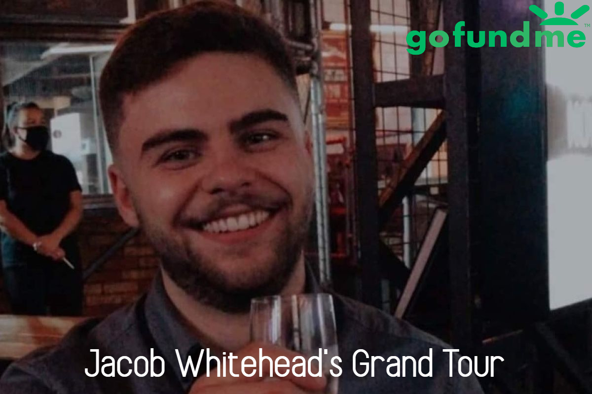 This image is of Jacob Whitehead, from the go fund me page 'jacob whiteheads grand tour'.